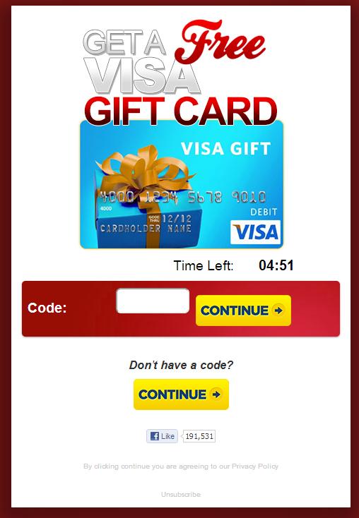 Visa250 Scam