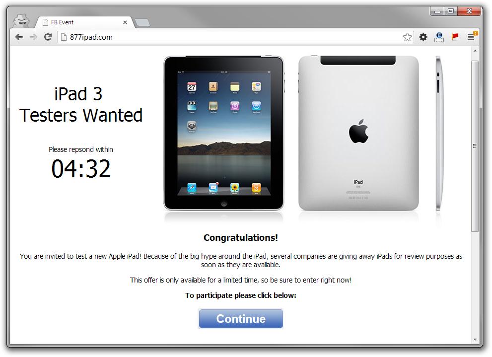 877ipad.com scam