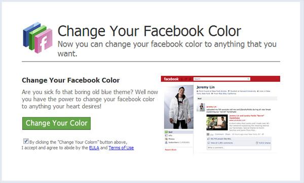 Facebook Black Malware