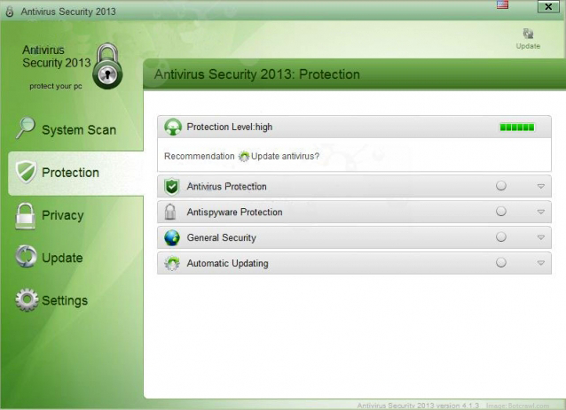 Remove Antivirus Security 2013 Virus