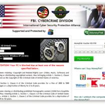 Remove FBI Cybercrime Division virus