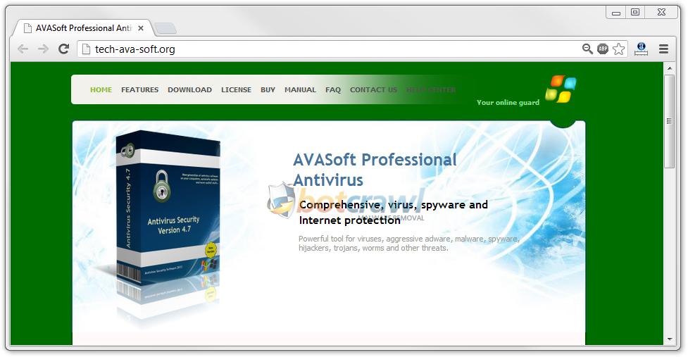 Tech-AVA-Soft.org Scam