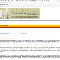 864-897-9653 Craigslist scam