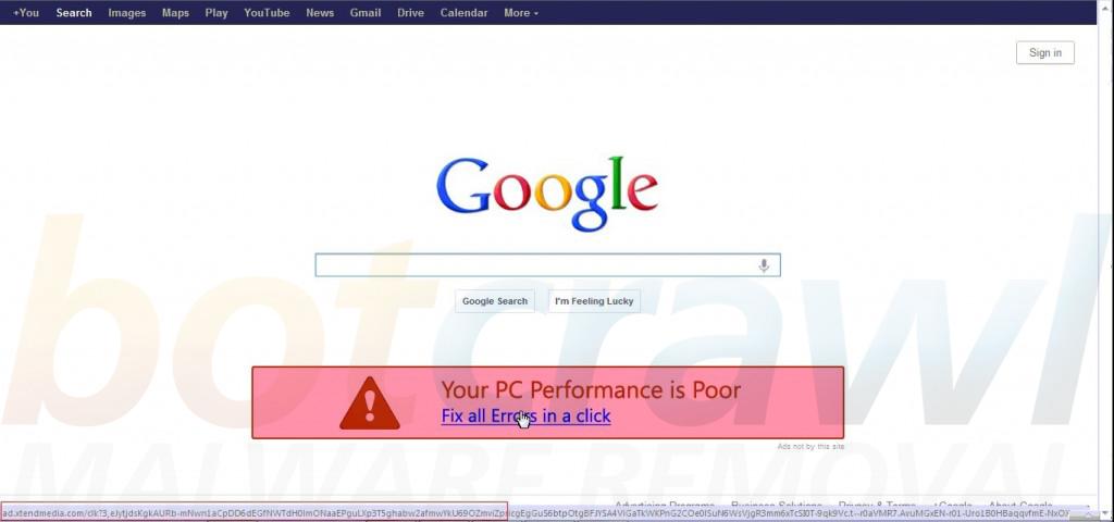 Remove AdXtendmedia adware