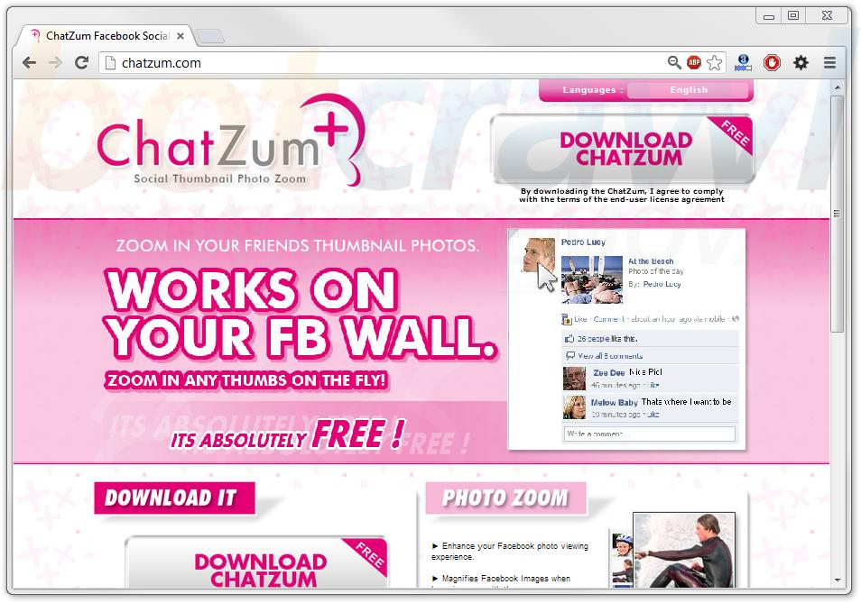 Remove Chatzum malware