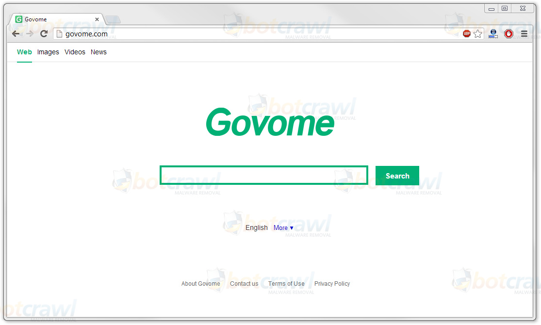 Remove Govome virus