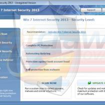 Remove Win 7 Internet Security 2013