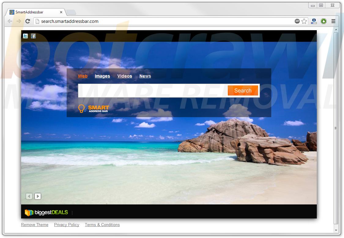 Search Smart Address Bar Virus