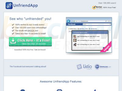 UnfriendApp Remove
