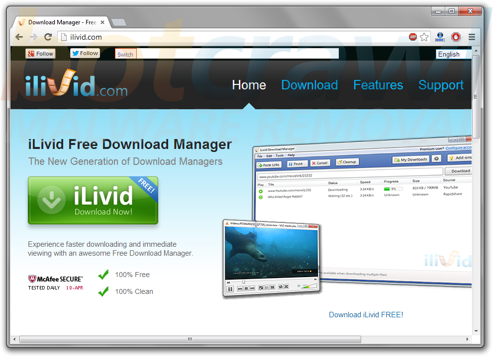 How to remove iLivid (Virus Removal Guide)