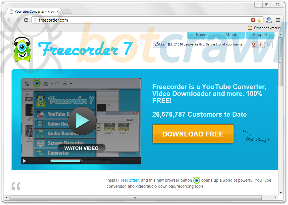 remove Freecorder virus