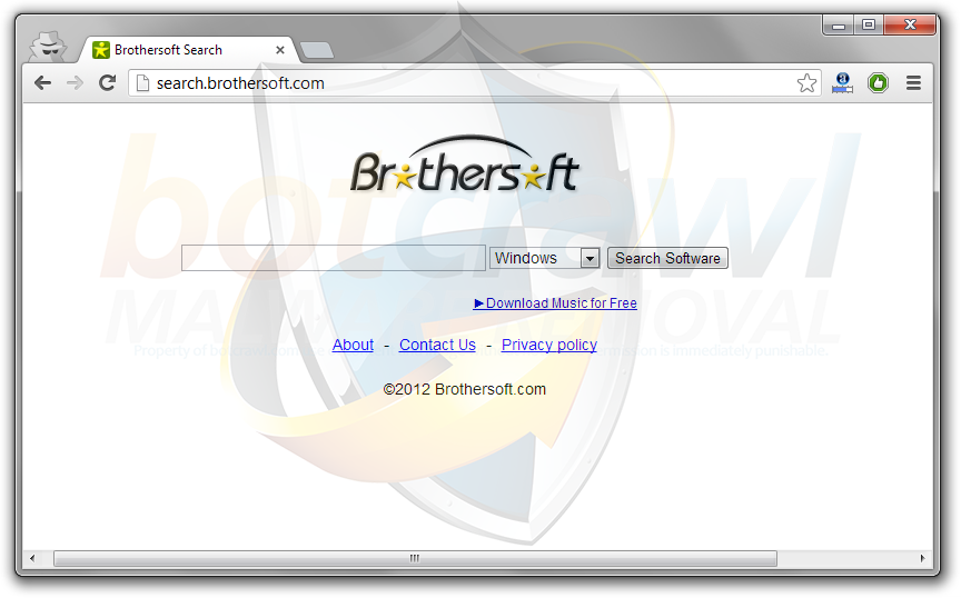 BrotherSoft Toolbar virus removal