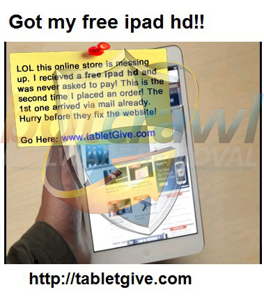 Tabletgive scam