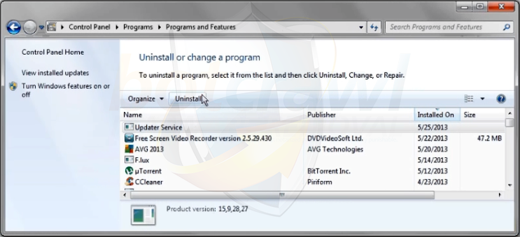 How to remove Updater Service (Virus Removal Guide)
