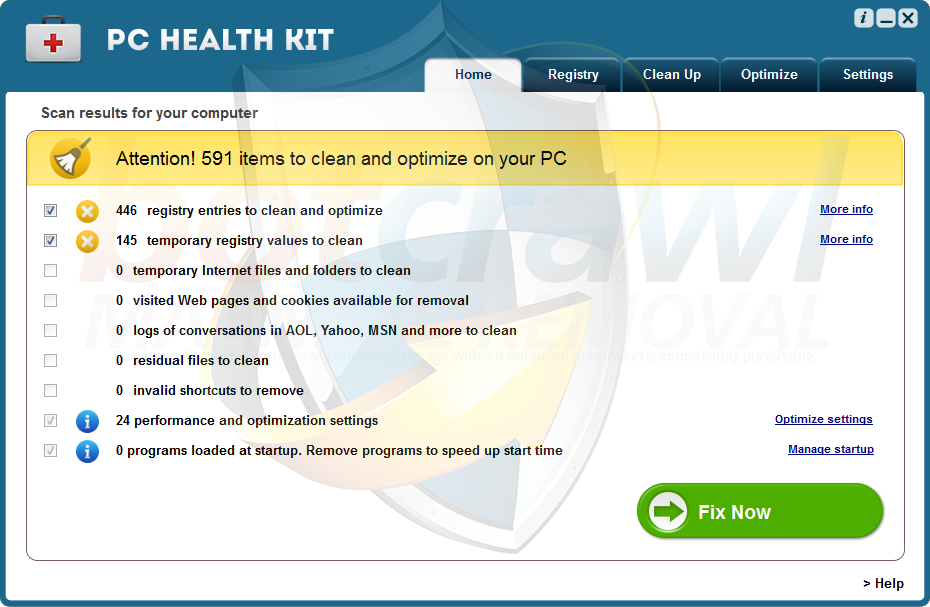 PC Health Kit malware removal