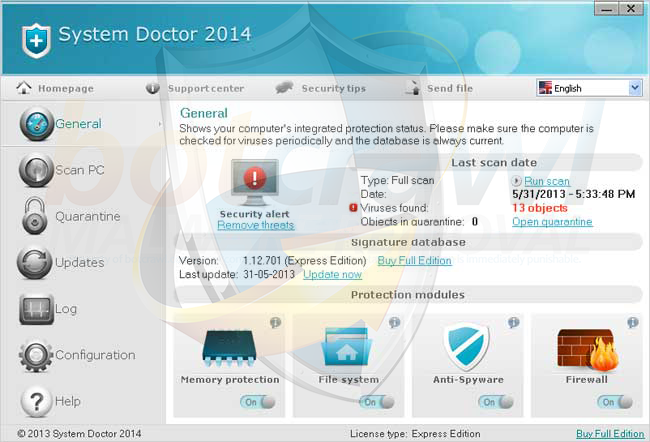 System Doctor 2014 removal