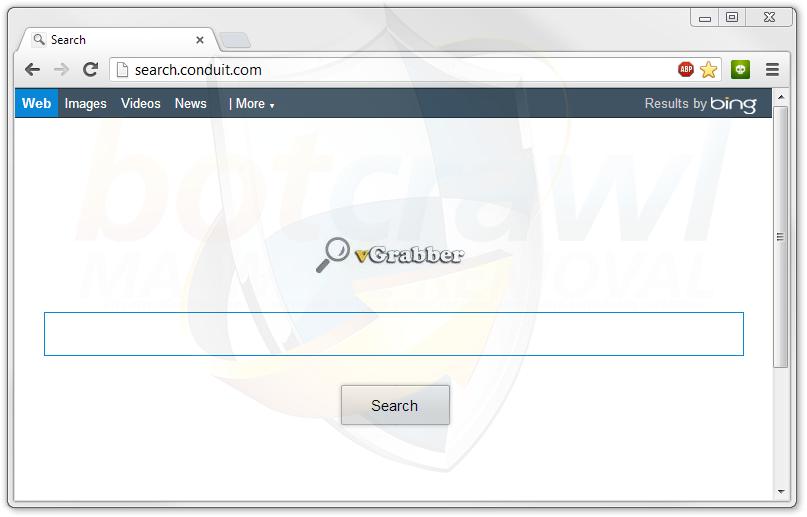 remove vgrabber search engine