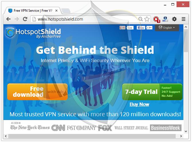 HotspotShield virus