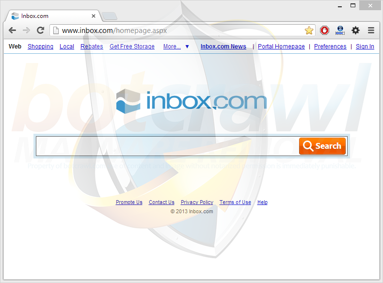 Inbox redirect virus