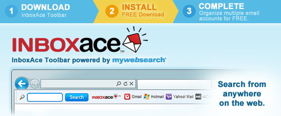 Inboxace Toolbar removal