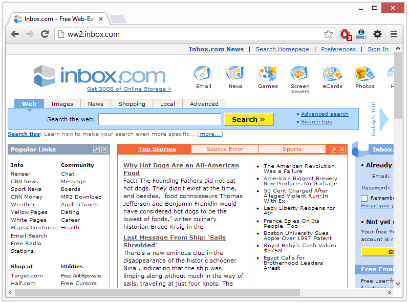 inbox virus