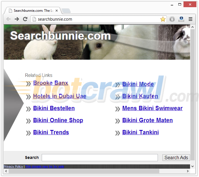 Searchbunnie redirect virus