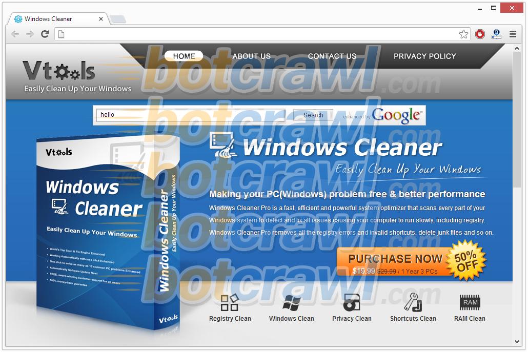 Windows Cleaner virus