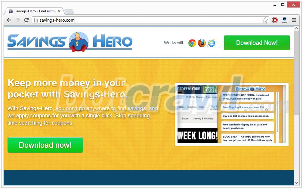 savings hero malware removal
