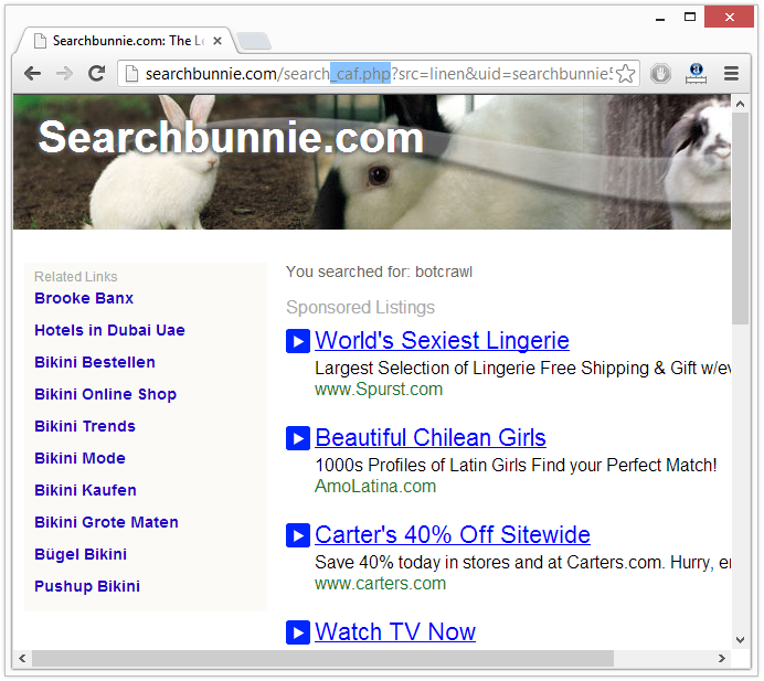 searchbunnie results