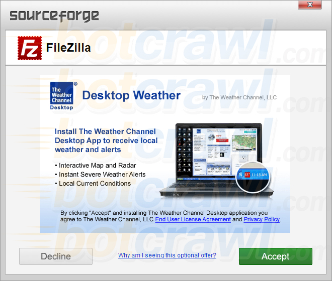 Desktop Weather malware