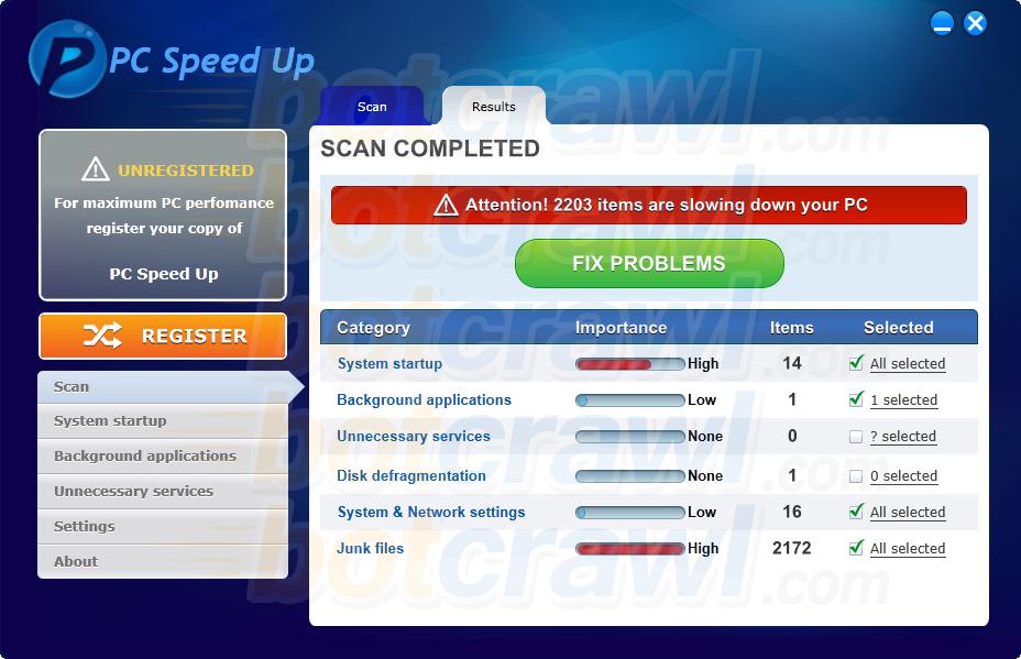 PC Speed Up virus