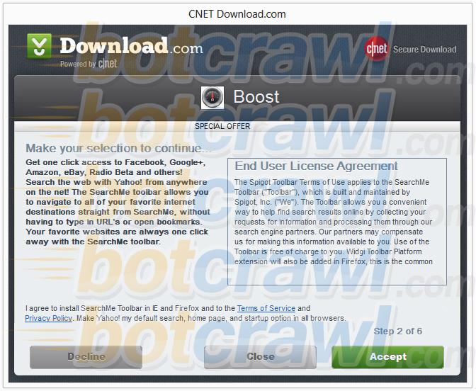 SearchMe toolbar virus