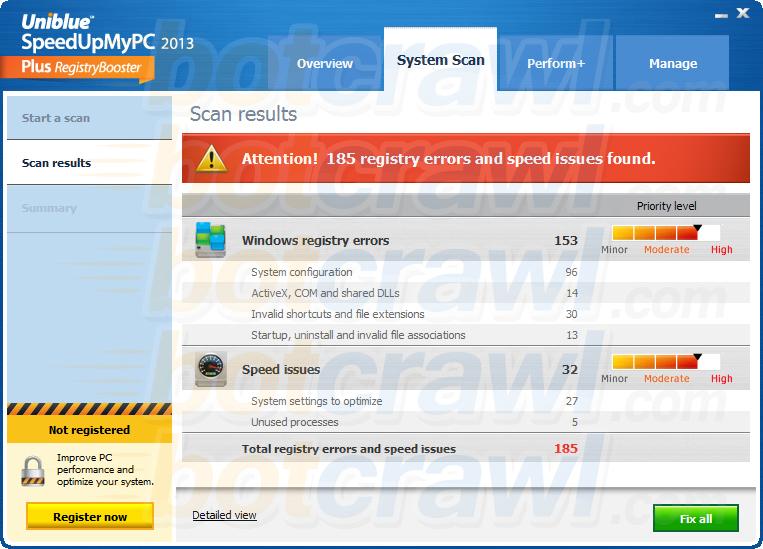 SpeedUpMyPC malware
