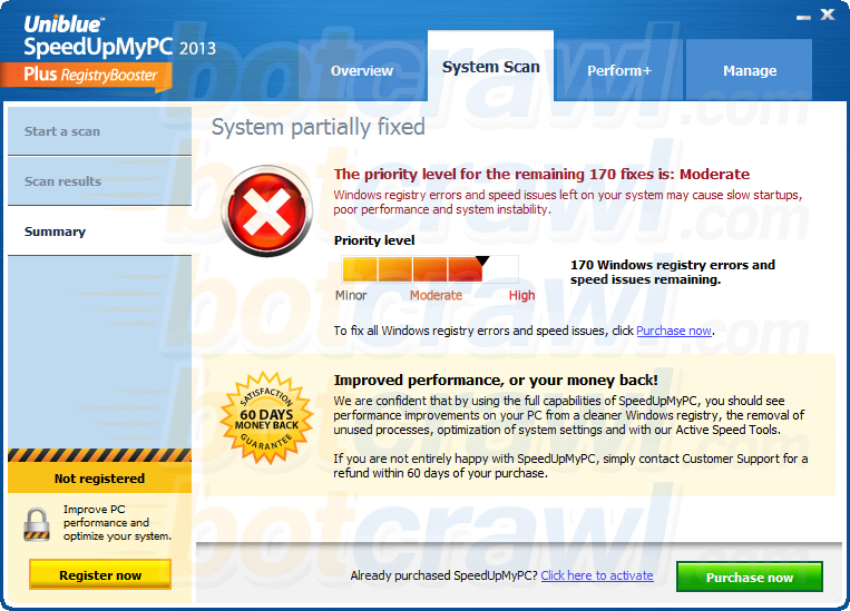SpeedUpMyPC virus