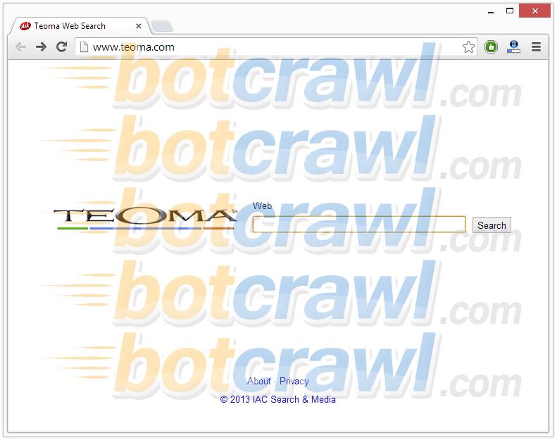 Teoma Web Search virus