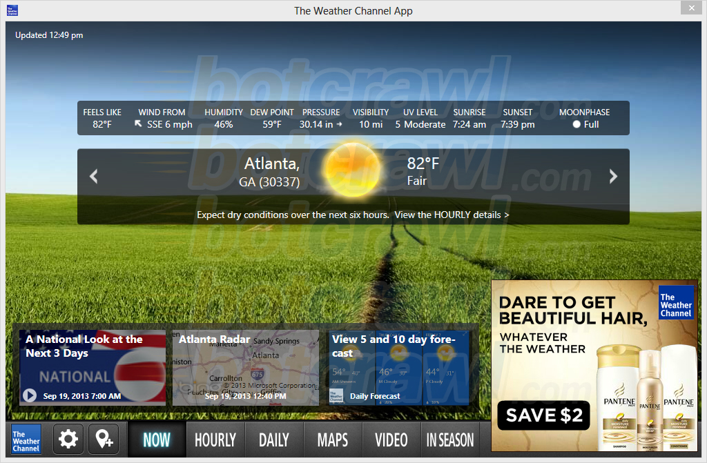 how to remove the weather channel app  virus removal guide