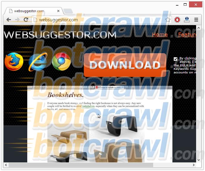 Web Suggestor virus