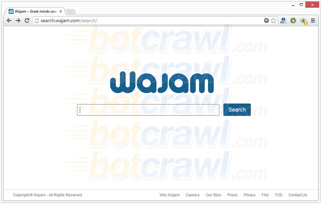 search wajam redirect virus