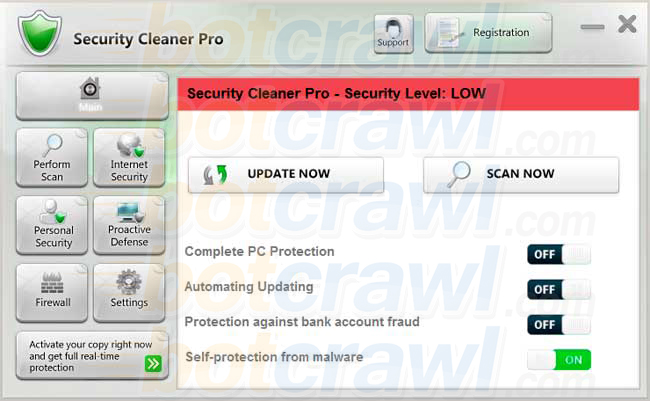 Security Cleaner Pro virus