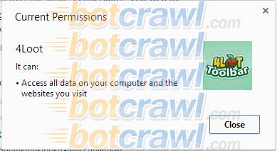 remove 4Loot Toolbar malware