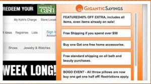 Gigantic Savings virus removal