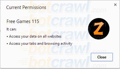 Free Games 115 malware