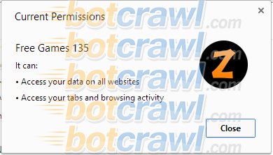 Free Games 135 malware