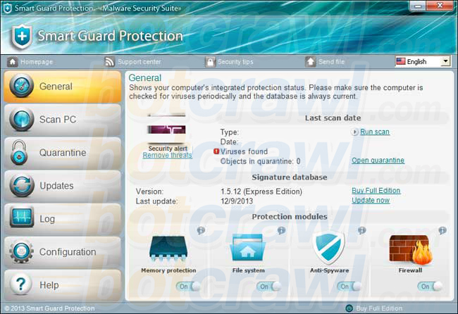 remove Smart Guard Protection malware