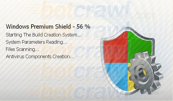 windows premium shield virus