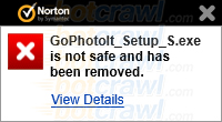 GoPhotoIt Norton removal
