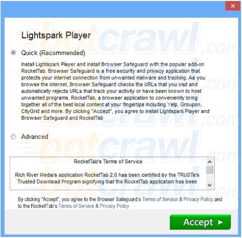 Lightspark virus