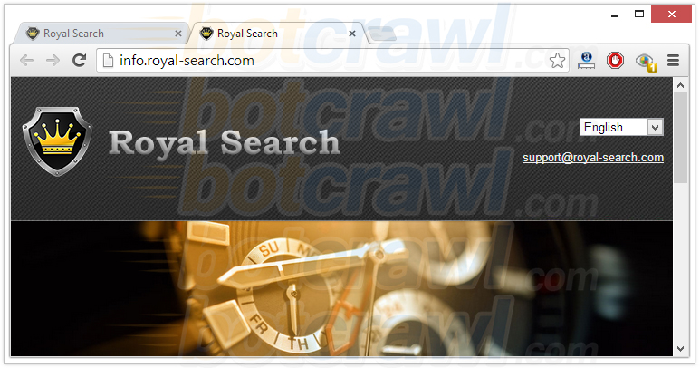 Royal-Search Toolbar