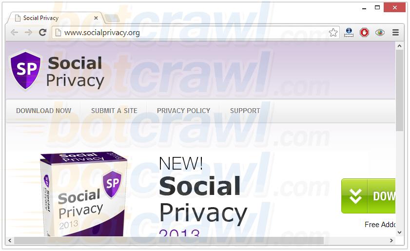 Social Privacy malware