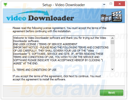 Video Downloder virus